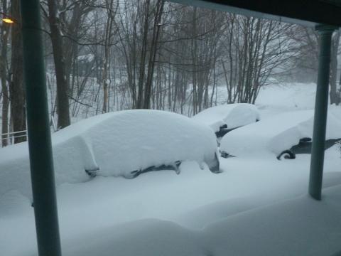 Where did the cars go?