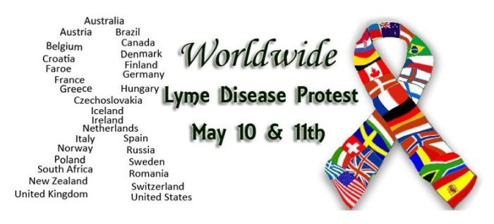 world wide Lyme Protest