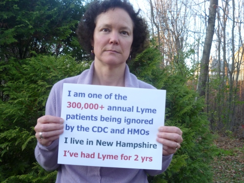 photo for the 300,000+ annual lyme cases photo project