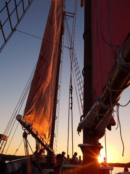 Margaret Todd Tall Ship.  (Bar Harbor, Maine)