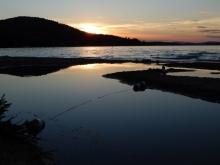 Ellacoya State Park Beach on Lake Winnipesaukee