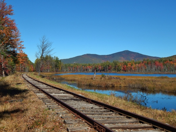 Train tracks - North Conway, New Hampshire