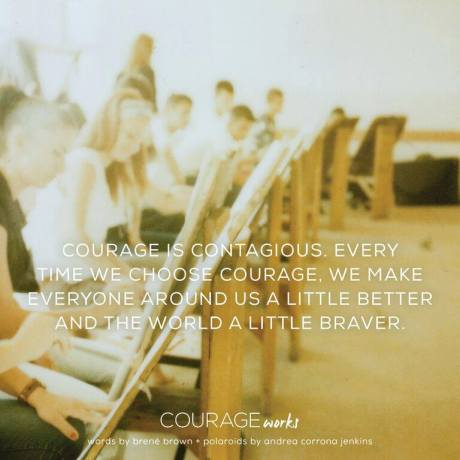 courage from Brene Brown