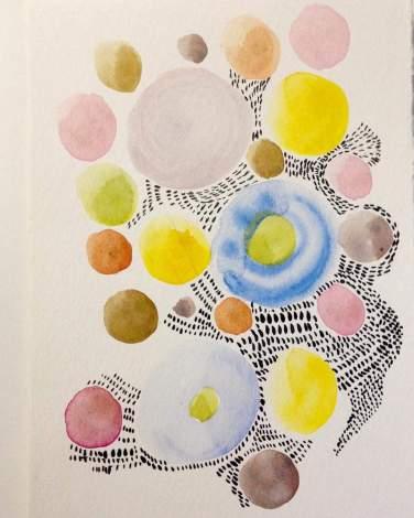 Watercolor by Susan Schwake